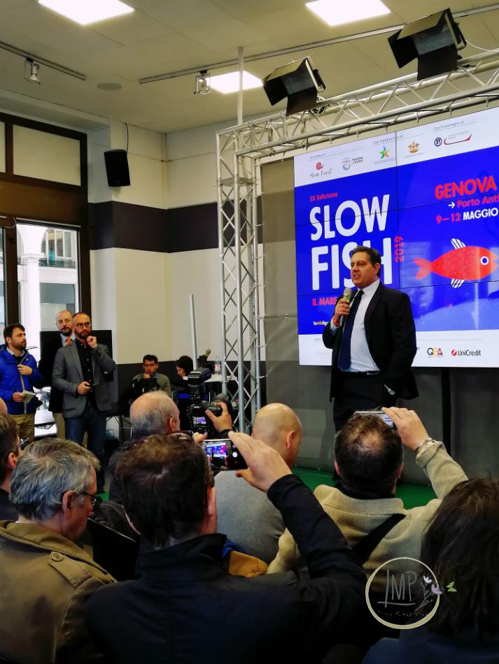 Mare bene comune slow fish 2019 Giovanni Toti