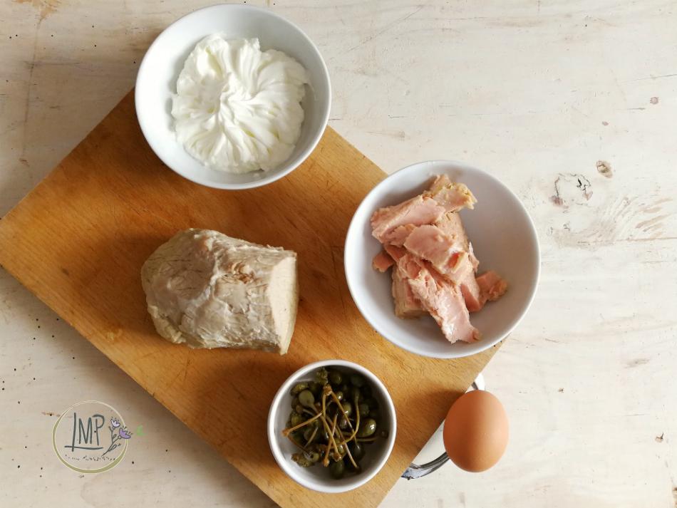 Vitello tonnato light ingredienti per il piatto