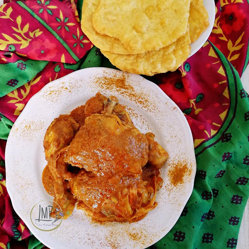 Pollo al curry dettaglio