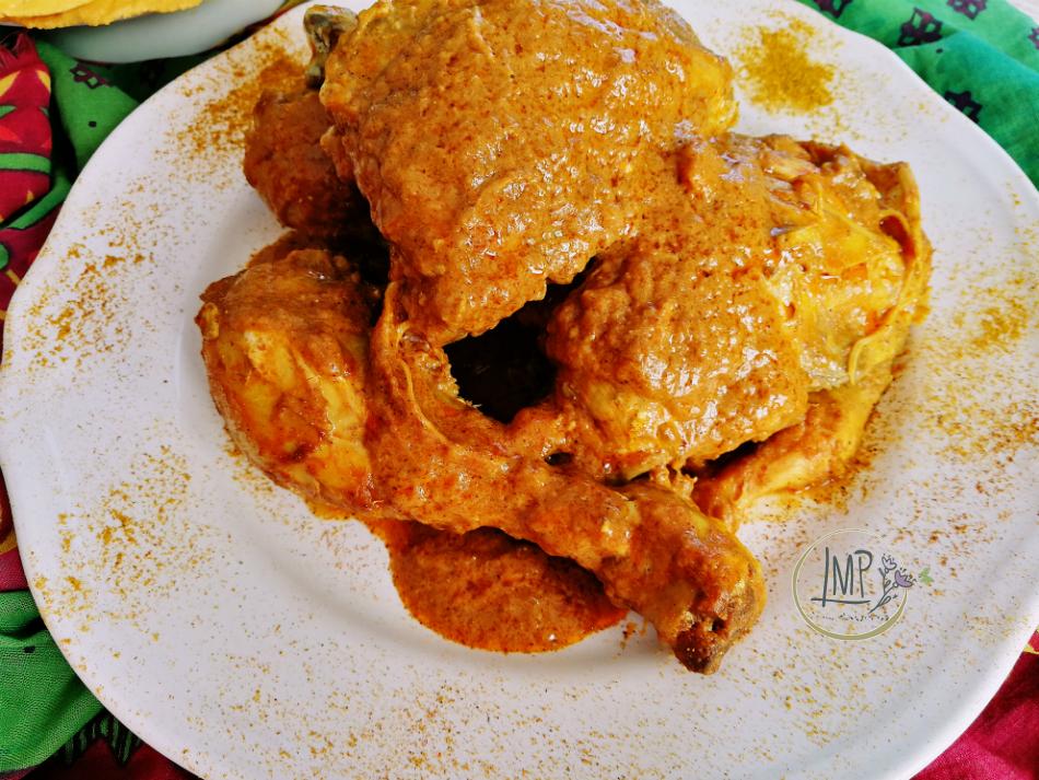 Pollo al curry pollo dettaglio