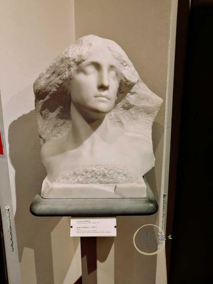 Nervi, Arte e Natura Collezioni Frugone busto