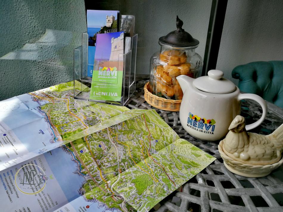 Nervi Riviera in città Progetto Alter Eco Med teiera