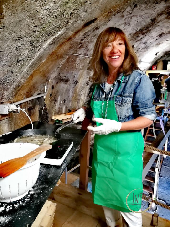 Saperi di mare, frittura acciughe