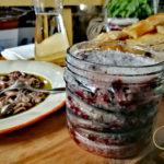Saperi di mare aperitivo acciughe condite