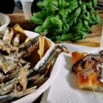Saperi di mare aperitivo acciughe fritte