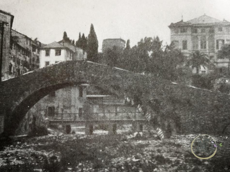 Nervi Ponte romano old imagine