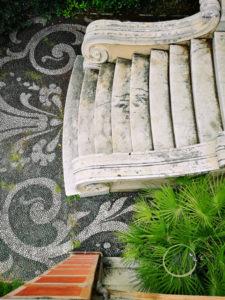 Nervi tra Arte e Natura Villa Grimaldi Fassio dettaglio