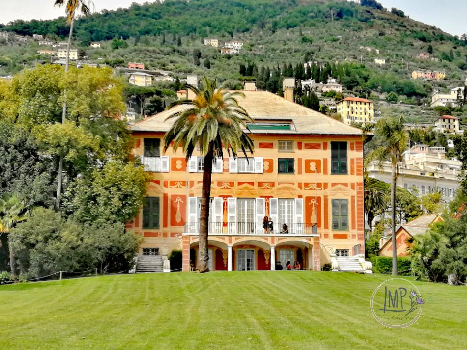 Nervi tra Arte e Natura Villa Grimaldi Fassio con parco