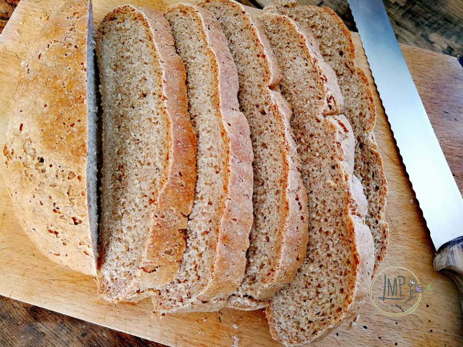 Pane integrale per bruschette