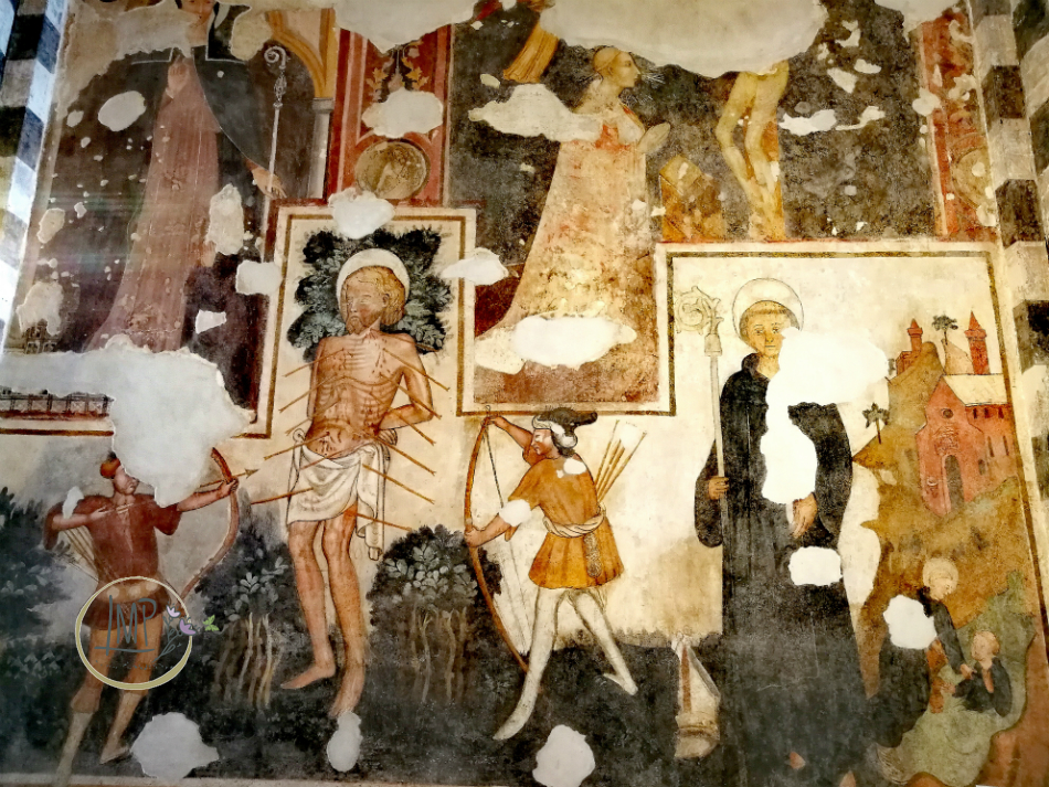 Alba, Chiesa San Domenico affreschi