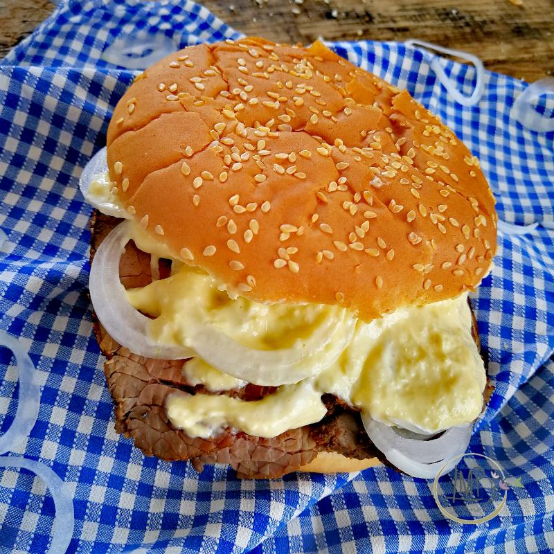 Baltimora Pit Beef sandwich
