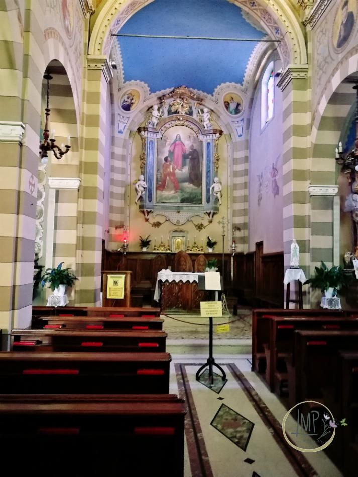 Castiglione Falletto Chiesa San Lorenzo interno