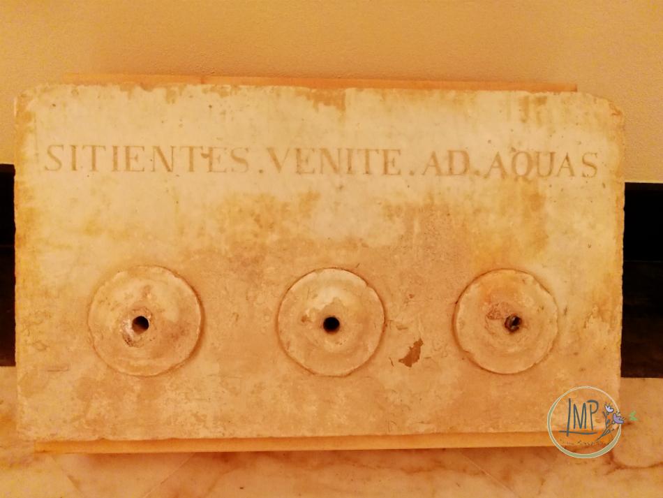 Santuario 3fontane museo lastra tre fontane