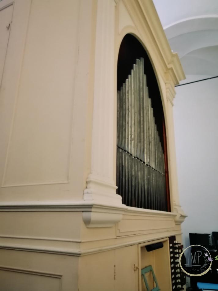 Santuario 3fontane organo dettaglio