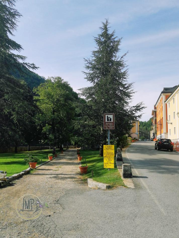 Santuario delle Tre Fontane accesso