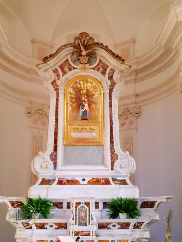 Santuario delle Tre Fontane altare