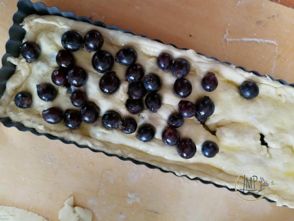 Secondo strato uva fragola