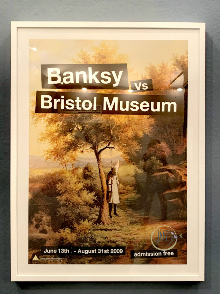Banksy Vs. bristol Museum Poster
