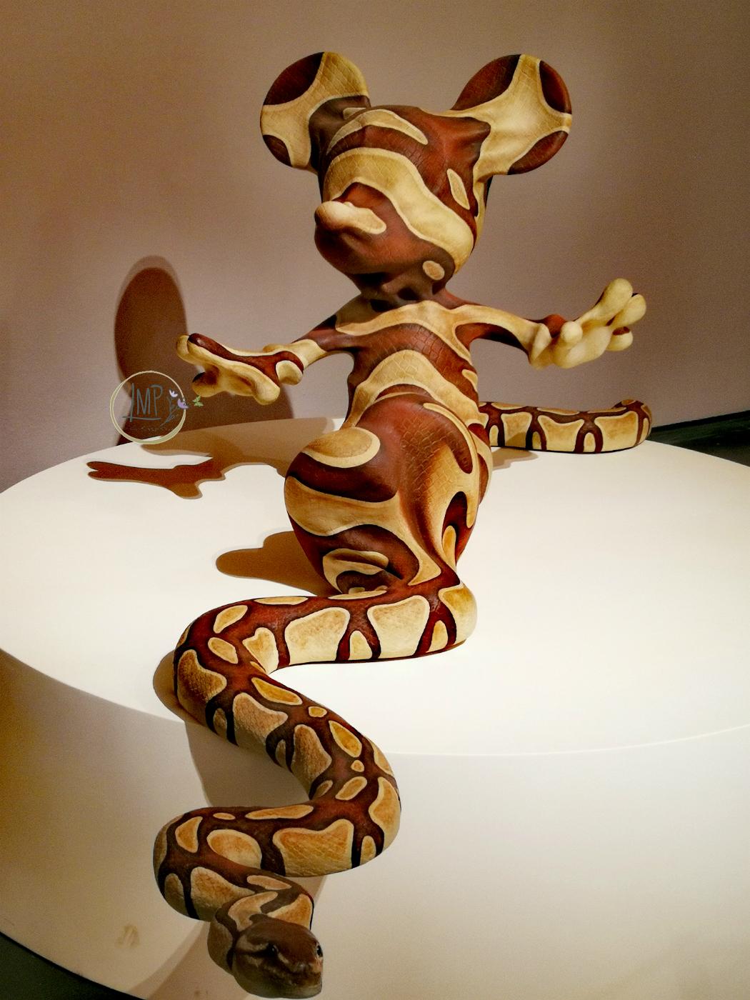 Banksy a Genova, Mickey Snake
