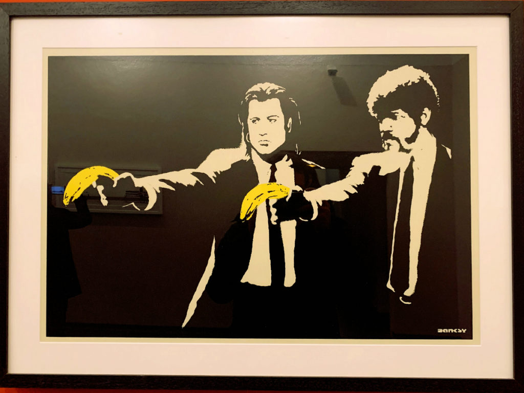 Banksy a Genova, Pulp Fiction