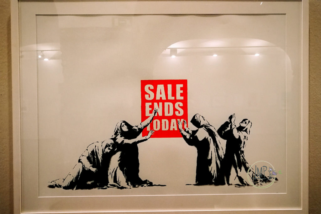 Banksy a Genova, Sale ends today