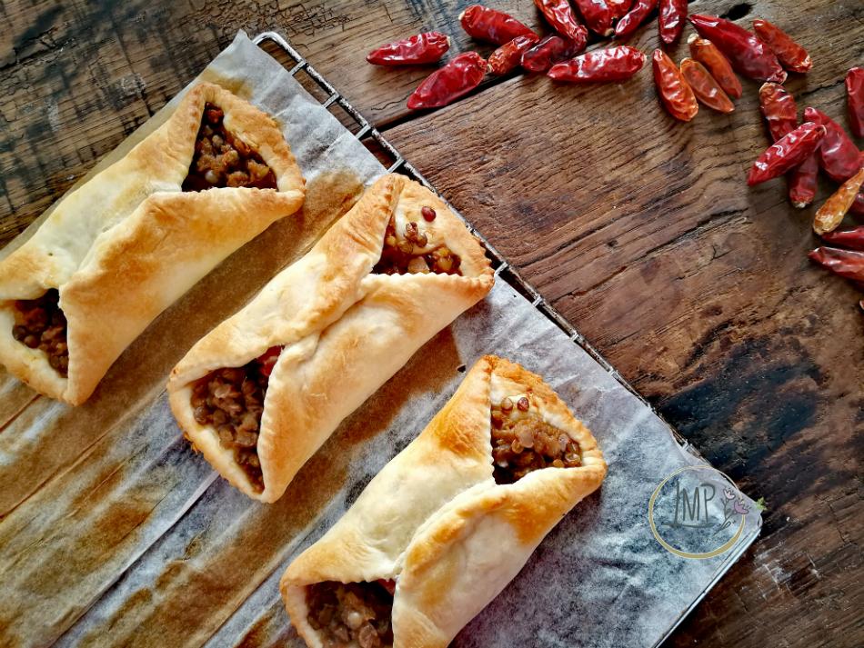 Finger food cotechino e lenticchie sfornati