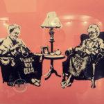 Grannies Banksy in Genoa