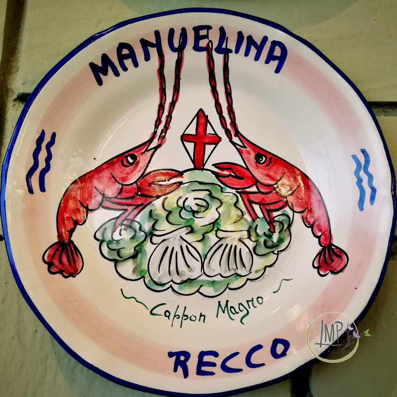 Piatto del Buon ricordo Ristorante Manuelina Cappon Magro
