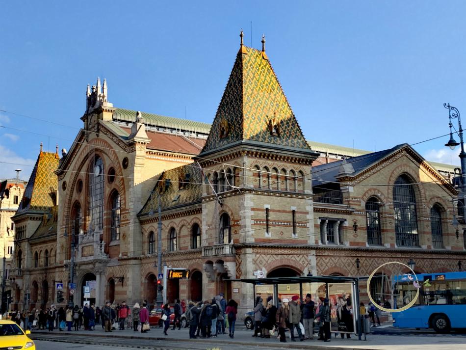 Budapest Mercato centrale Nagycsarnok