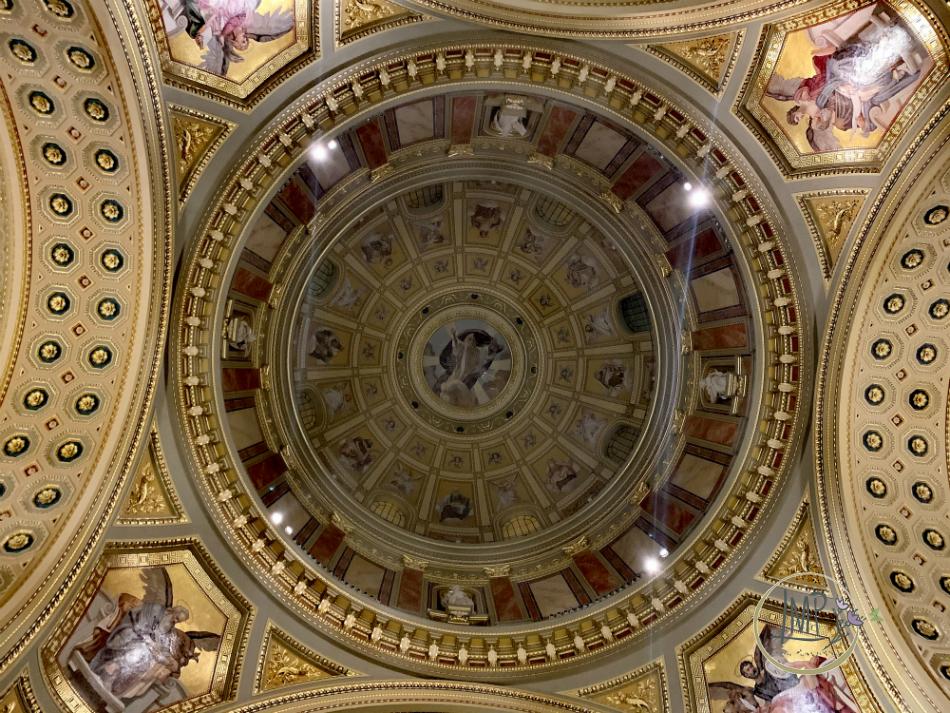 Budapest Santo Stefano cupola