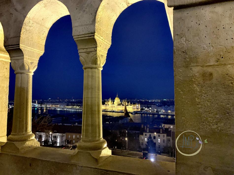 Budapest dal Bastione dei Pescatori