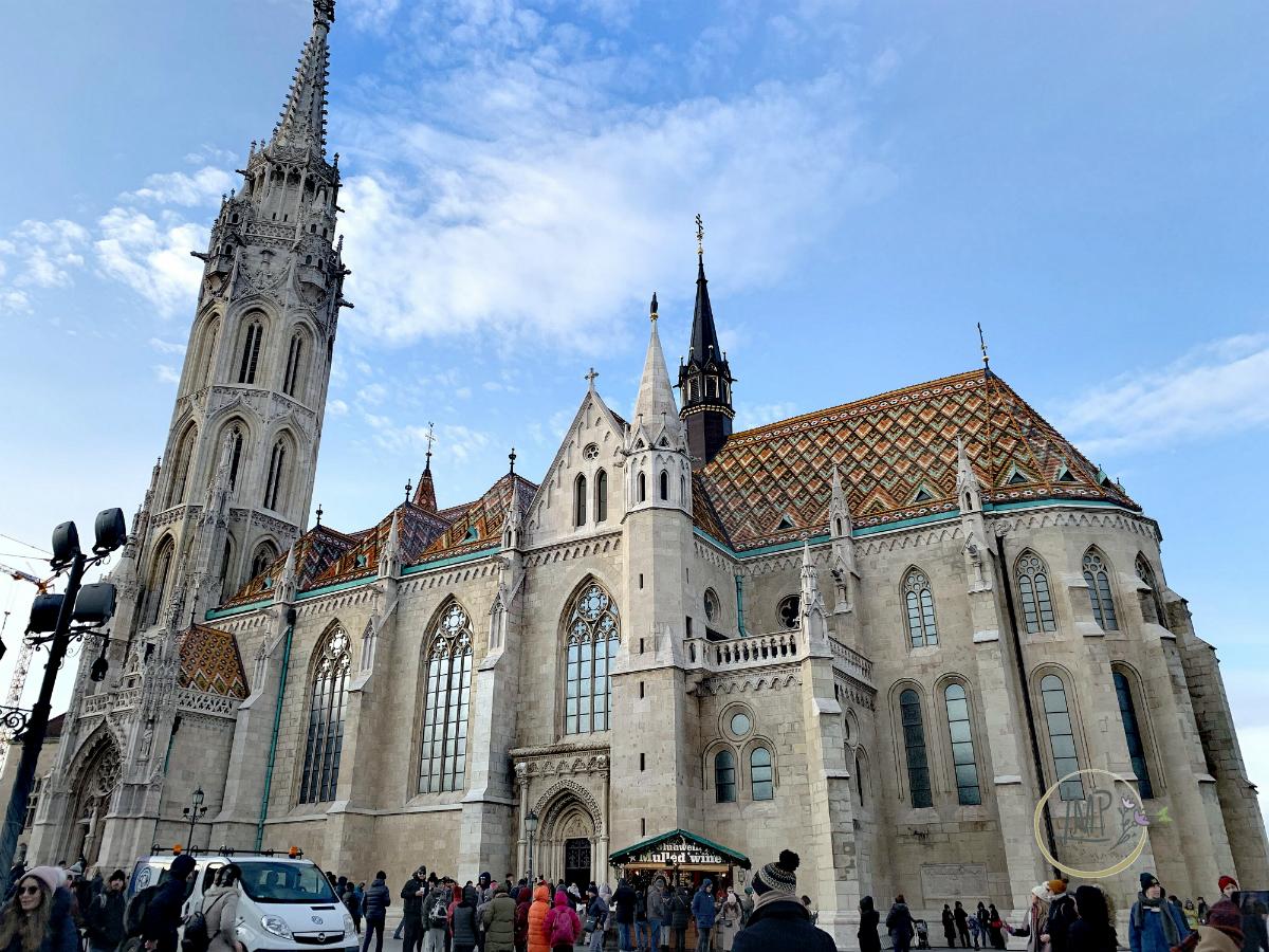 Budapest in 3 giorni Chiesa di Mattia Mátyás-templom esterno