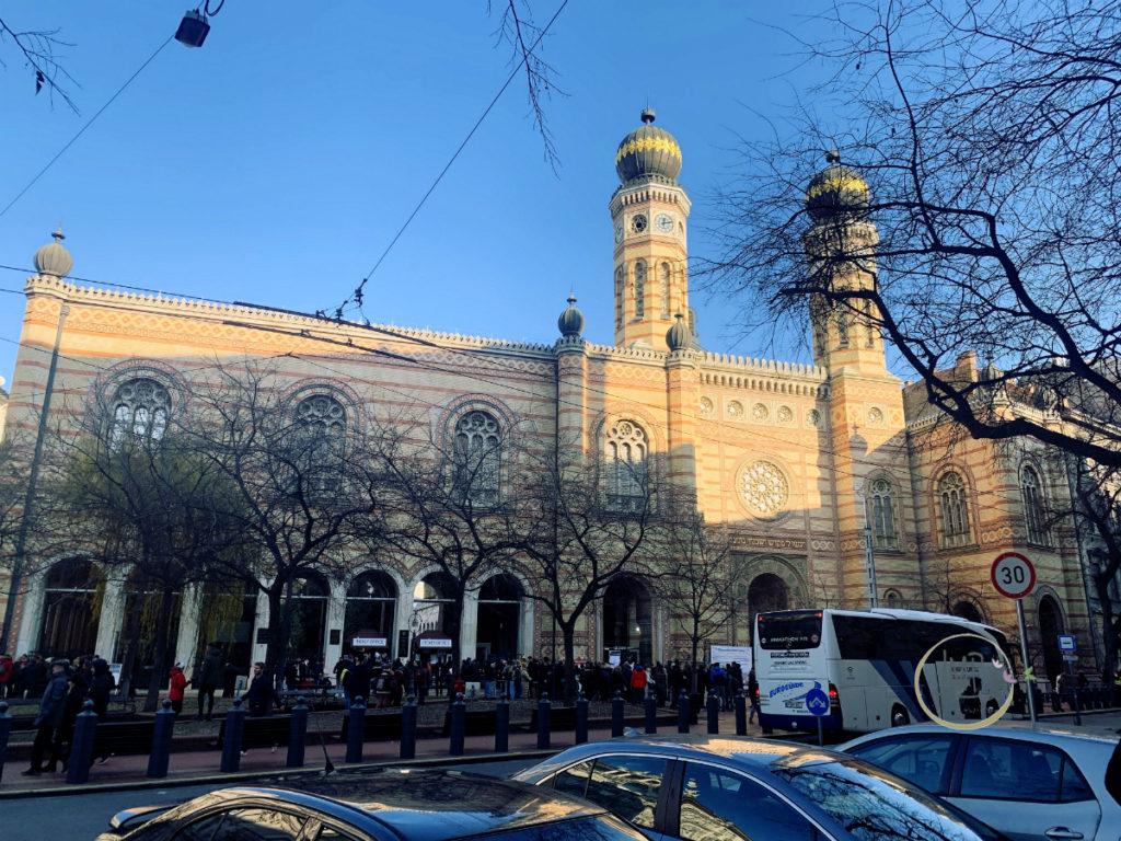 Budapest in 3 giorni La Grande sinagoga Nagy zsinagóga esterno