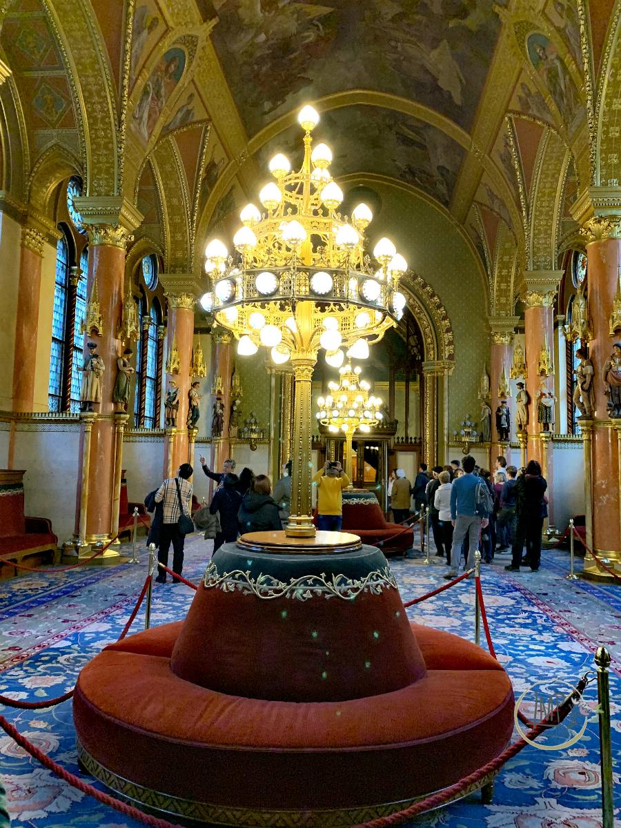 Budapest in 3 giorni Parlamento Tappeto blu Országház