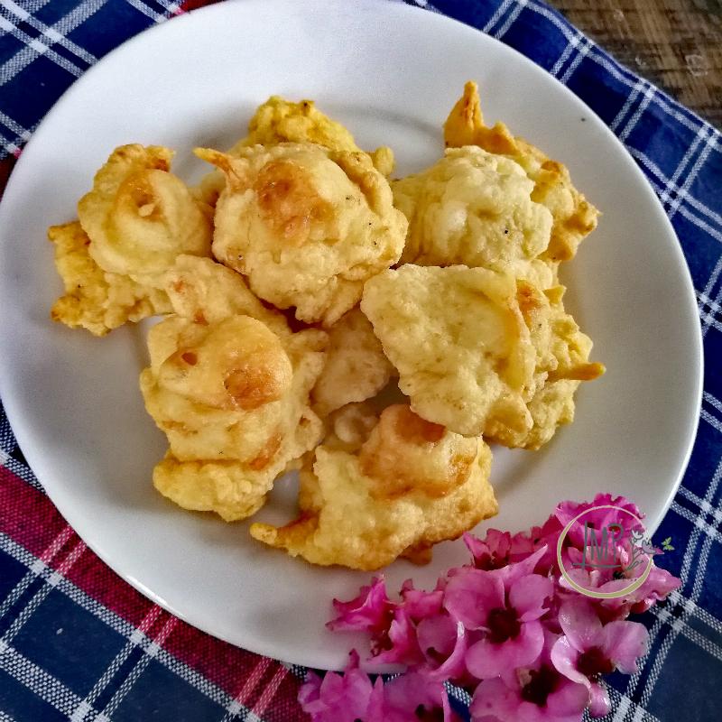 Frittelle di rossetti o bianchetti frisceu de gianchetti