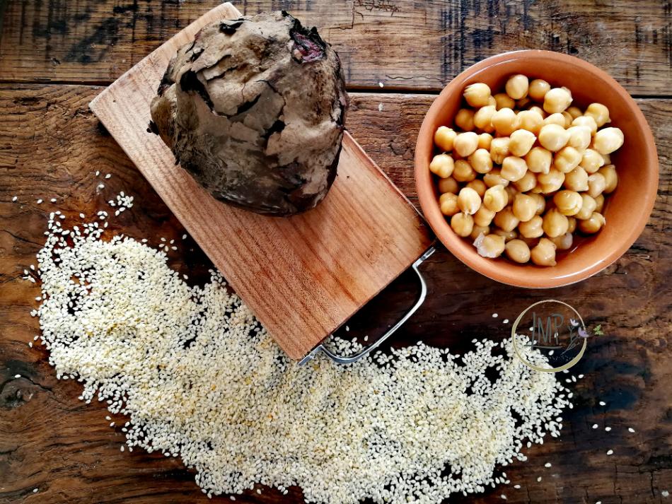 Hummus di barbabietole, ingredienti