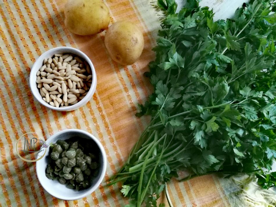 Ingredienti salsa verde