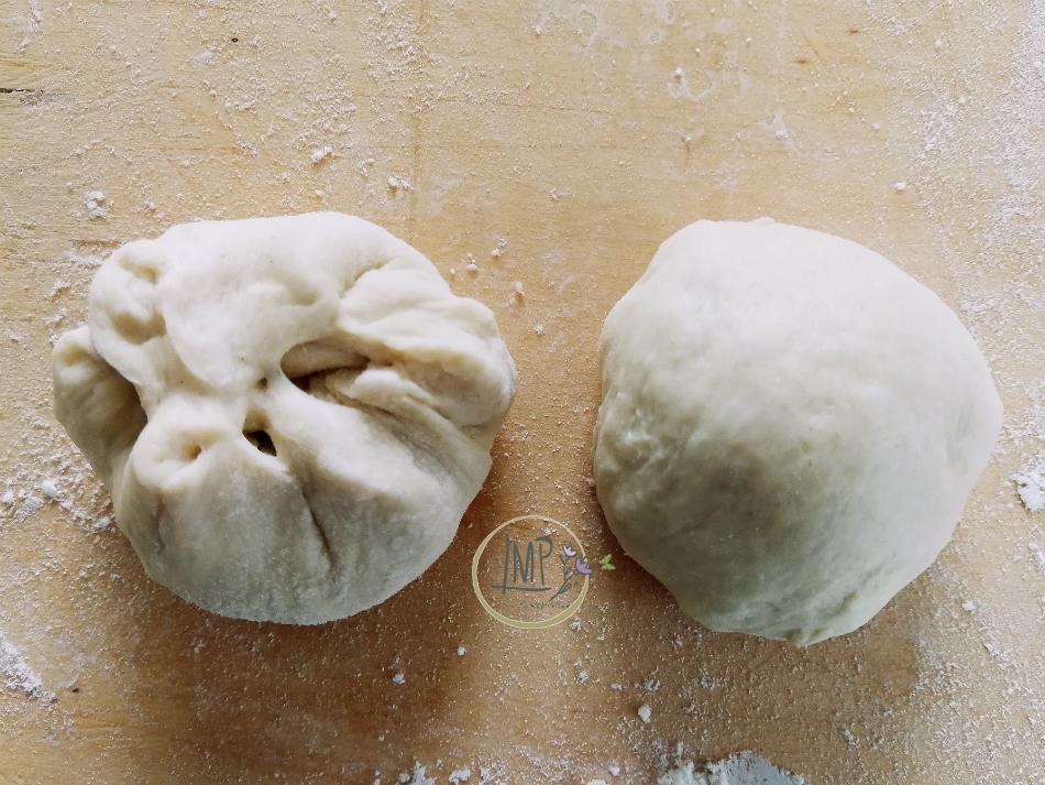 Preparazione panini di Sant'Antonio