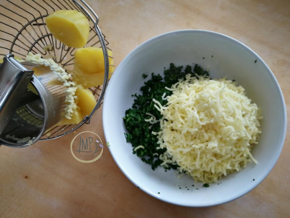 Bietole e patate per gli gnocchi verdi