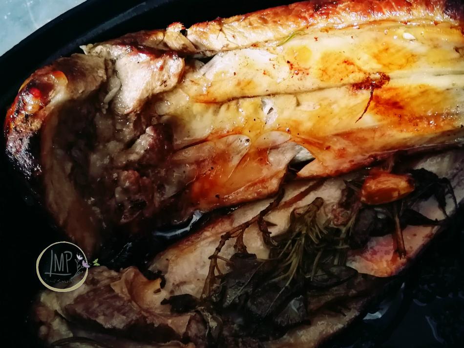 Costine di maiale al forno in pentola