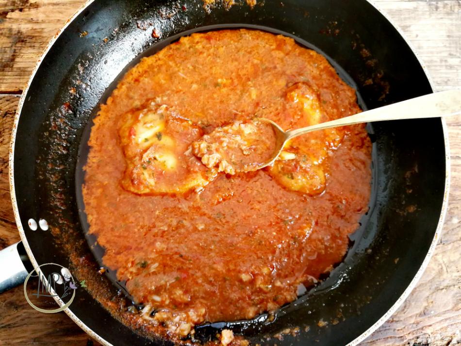 Zuppa di rana pescatrice con ciupin