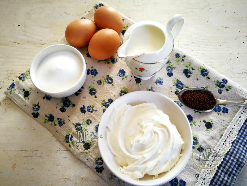 Ingredienti Crema cappuccino