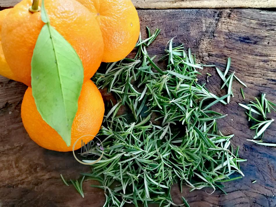 Ingredienti digestivo agh di rosmarino e arance