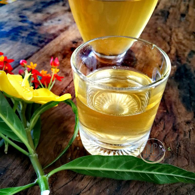 Liquore di albicocche dettaglio