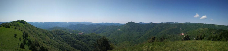 Panorama dal Monte della Cavalla